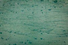 Struttura di vecchio fondo di legno verde Fotografie Stock Libere da Diritti