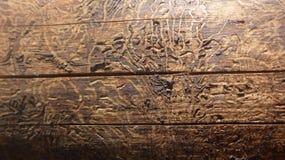 Struttura di vecchio legno Fotografia Stock