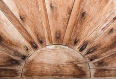 Struttura di vecchio legno in Asia Fotografia Stock