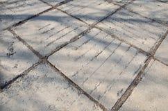 Struttura di vecchio marciapiede Fotografia Stock Libera da Diritti
