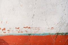 Struttura di vecchio peschereccio arrugginito fotografia stock libera da diritti