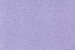 Struttura di vecchio primo piano di carta violetto-chiaro Struttura di un cartone denso I precedenti della lavanda Immagine Stock