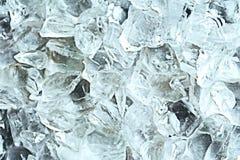 Struttura di vetro e del ghiaccio Fotografia Stock