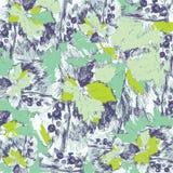 Struttura di vettore delle bacche e delle foglie del ribes illustrazione di stock