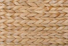 Struttura di vimini del fondo dell'erba asciutta Immagini Stock