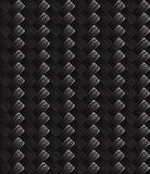 Struttura diagonale del tessuto del carbonio Fotografie Stock Libere da Diritti