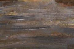 Struttura dipinta della pittura di Brown dell'estratto del fondo di colore Fotografie Stock Libere da Diritti