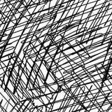 Struttura disegnata a mano dello scarabocchio dell'inchiostro senza cuciture Fotografia Stock Libera da Diritti
