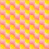 struttura dolce gialla rosa Immagini Stock