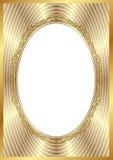 Struttura dorata Immagine Stock