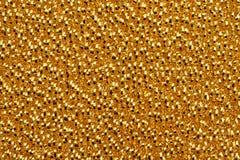 Struttura dorata astratta Fotografia Stock