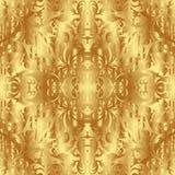 Struttura dorata Fotografia Stock