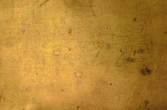 Struttura dorata della parete per uso come fondo Fotografia Stock Libera da Diritti