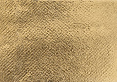 Struttura dorata della stagnola Fotografia Stock Libera da Diritti
