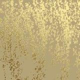 Struttura dorata di lerciume per creare effetto dell'oro del graffio della patina Illustrazione di vettore illustrazione vettoriale