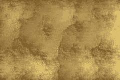 Struttura dorata di un pavimento di lerciume simile a calcestruzzo royalty illustrazione gratis