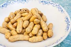 Struttura e dettaglio dell'arachide Fotografia Stock
