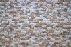 Struttura e fondo dell'annata di stile del muro di mattoni fotografie stock libere da diritti