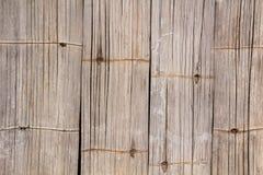 Struttura e fondo di bambù Immagini Stock