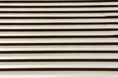 Struttura e fondo di piastra metallica di alluminio del nastro Fotografia Stock