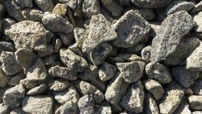 Struttura e fondo di pietre rotte schiacciati di breakstone immagini stock
