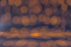 Struttura e fondo di prospettiva del bokeh di Blure Fotografia Stock