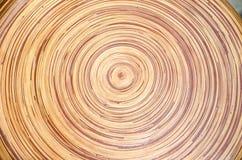 Struttura e fondo fatti a mano di legno astratti della decorazione Immagini Stock