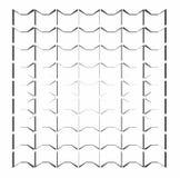 Struttura e fondo geometrici bianchi Fotografia Stock Libera da Diritti