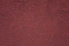 Struttura e fondo rossi della parete di Borgogna immagine stock