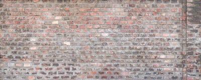 Struttura esposta all'aria del muro di mattoni Immagini Stock Libere da Diritti