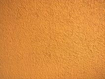 Struttura esterna arancio della parete Immagine Stock
