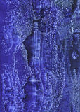 Struttura fatta a mano blu dell'acquerello Immagini Stock Libere da Diritti