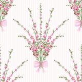 Struttura floreale senza cuciture del fondo di struttura del modello Immagini Stock