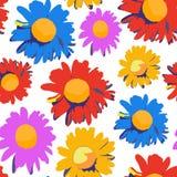Struttura floreale senza giunte Fotografia Stock