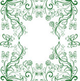 Struttura verde Immagine Stock