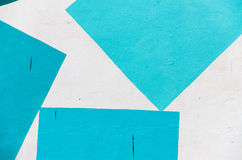 Struttura-fondo della parete dei graffiti Immagini Stock