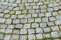 Struttura, fondo Fondo Ponte di pietra selvaggio allineato con il co Fotografia Stock Libera da Diritti