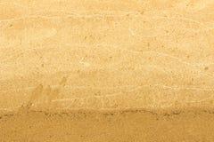 Struttura, fondo La sabbia sulla spiaggia subst granulare sciolto Immagine Stock Libera da Diritti