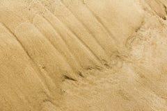 Struttura, fondo La sabbia sulla spiaggia subst granulare sciolto Fotografie Stock