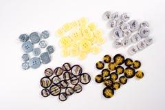 Struttura, fondo, modello Bottoni per i vestiti Ciò è un passo Fotografia Stock Libera da Diritti
