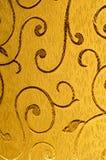 Struttura, fondo, modello Tessuto del damasco con i modelli brillanti Immagini Stock
