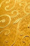 Struttura, fondo, modello Tessuto del damasco con i modelli brillanti Fotografia Stock Libera da Diritti