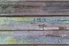 Struttura, fondo, vecchi bordi orizzontali di legno immagini stock