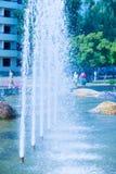 Struttura Fontana della città, intere di Dita Fotografia Stock