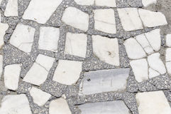 Struttura frantumata mattoni di pietra Fotografia Stock Libera da Diritti