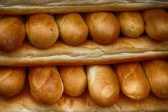struttura fresca del pane dei rotoli fotografia stock