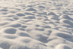 Struttura fresca della neve Fotografia Stock
