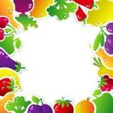 Struttura, frutta e verdure Immagini Stock Libere da Diritti