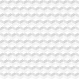 Struttura geometrica astratta bianca - senza cuciture Fotografia Stock