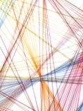 Struttura geometrica astratta del fondo di forme Fotografia Stock